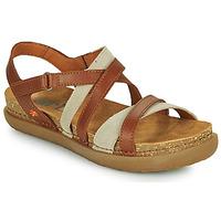 Schoenen Dames Sandalen / Open schoenen Art RHODES Brown