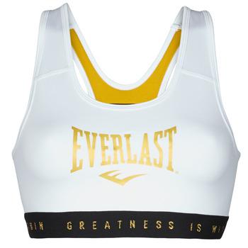 Textiel Dames Sport BHs Everlast EVL BRAND BR Wit / Goud