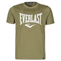 Textiel Heren T-shirts korte mouwen Everlast EVL- BASIC TEE-RUSSEL Kaki