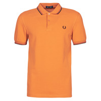 Textiel Heren Polo's korte mouwen Fred Perry TWIN TIPPED FRED PERRY SHIRT  camel