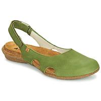 Schoenen Dames Sandalen / Open schoenen El Naturalista WAKATAUA Groen