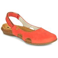 Schoenen Dames Sandalen / Open schoenen El Naturalista WAKATAUA Orange