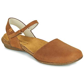 Schoenen Dames Sandalen / Open schoenen El Naturalista WAKATAUA Brown