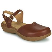 Schoenen Dames Sandalen / Open schoenen El Naturalista WAKATIWAI Brown