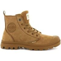 Schoenen Dames Laarzen Palladium Manufacture Boots Pampa HI Zip Marron