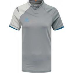 Textiel Dames T-shirts korte mouwen Hummel Maillot d'avant match  hmlINVENTUS Femme gris