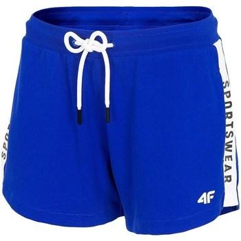 Textiel Dames Korte broeken / Bermuda's 4F SKDD003 Bleu