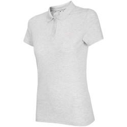 Textiel Dames Polo's korte mouwen 4F TSD007 Blanc