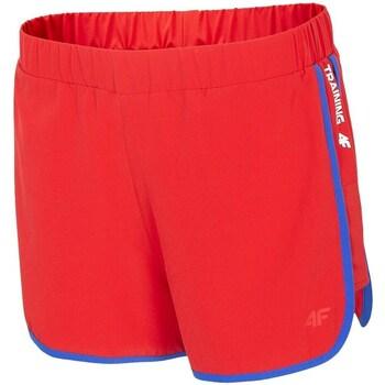 Textiel Dames Korte broeken / Bermuda's 4F SKDF001 Rouge
