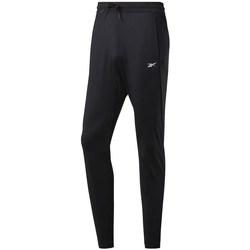 Textiel Heren Trainingsbroeken Reebok Sport Workout Knit Pant Noir