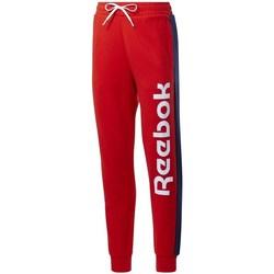 Textiel Dames Trainingsbroeken Reebok Sport TE Liner Logo French Terry Rouge