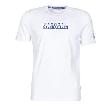 Textiel Heren T-shirts korte mouwen Kaporal DINO Wit