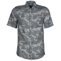 Textiel Heren Overhemden korte mouwen Kaporal SID Marine