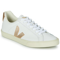 Schoenen Dames Lage sneakers Veja ESPLAR LOGO Wit / Goud