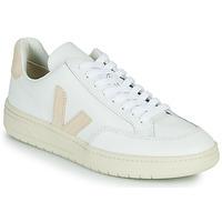 Schoenen Lage sneakers Veja V-12 Wit / Beige