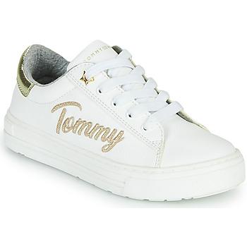 Schoenen Meisjes Lage sneakers Tommy Hilfiger SOFI Wit