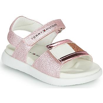 Schoenen Meisjes Sandalen / Open schoenen Tommy Hilfiger EMIA Roze
