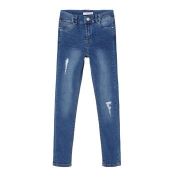Textiel Meisjes Skinny jeans Name it NKFPOLLY Blauw
