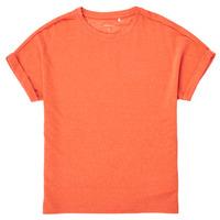 Textiel Meisjes T-shirts korte mouwen Name it NKFKYRRA Corail