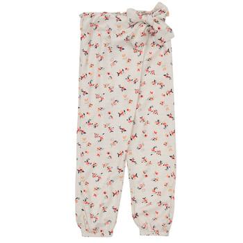 Textiel Meisjes Losse broeken / Harembroeken Name it NMFDELFIN Wit