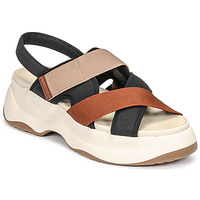 Schoenen Dames Sandalen / Open schoenen Vagabond Shoemakers ESSY Wit / Rouille / Zwart