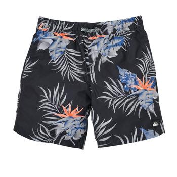 Textiel Jongens Zwembroeken/ Zwemshorts Quiksilver PARADISE EXPRESS 15 Zwart