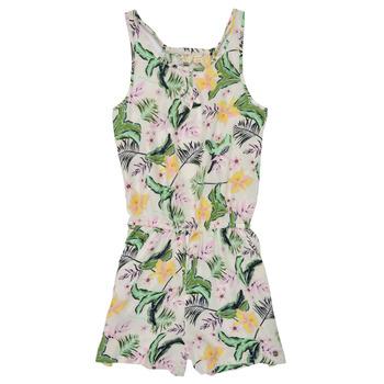 Textiel Meisjes Jumpsuites / Tuinbroeken Roxy IN THE MOUNTAIN Multicolour