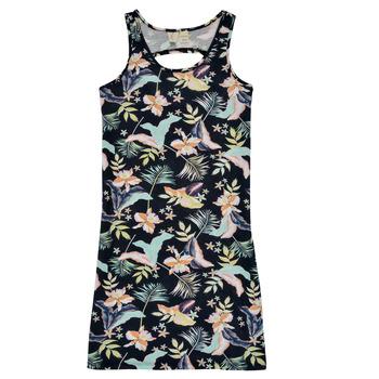 Textiel Meisjes Korte jurken Roxy FLOWER SHADOW DRESS Zwart