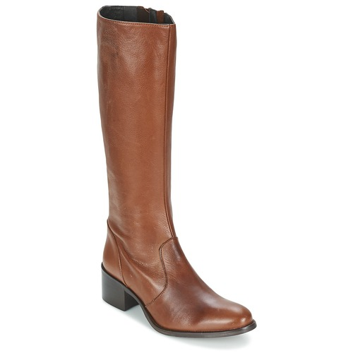 Schoenen Dames Hoge laarzen Betty London IROIN  camel