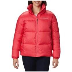 Textiel Dames Dons gevoerde jassen Columbia Puffect Jacket Rouge