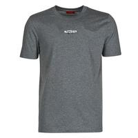 Textiel Heren T-shirts korte mouwen HUGO DURNED Grijs