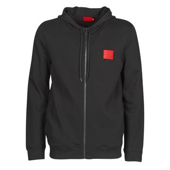 Textiel Heren Sweaters / Sweatshirts HUGO DAPLE Zwart