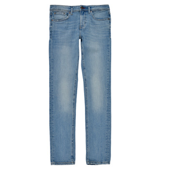 Textiel Jongens Skinny Jeans Teddy Smith FLASH Blauw