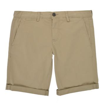 Textiel Jongens Korte broeken / Bermuda's Teddy Smith SHORT CHINO Beige