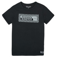 Textiel Jongens T-shirts korte mouwen Teddy Smith T-VANY Zwart