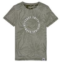 Textiel Jongens T-shirts korte mouwen Teddy Smith T-OTYS Kaki