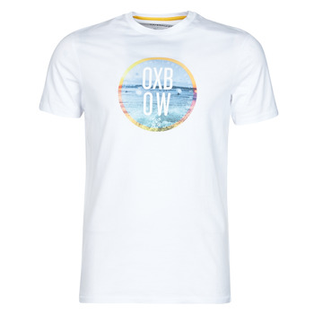 Textiel Heren T-shirts korte mouwen Oxbow N1TERO Wit