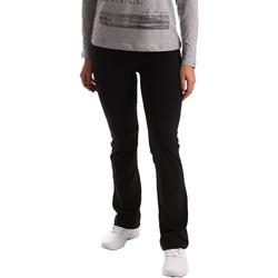 Textiel Dames Trainingsbroeken Key Up 5LI20 0001 Zwart