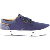 Schoenen Heren Lage sneakers Wrangler WM01000A Blauw