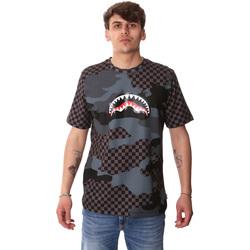 Textiel Heren T-shirts korte mouwen Sprayground SP01820BLA Zwart