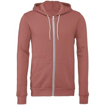 Textiel Sweaters / Sweatshirts Bella + Canvas CV3739 Mauve