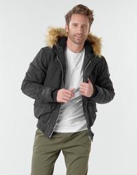 Textiel Heren Wind jackets Schott WASHINGTON2 Zwart