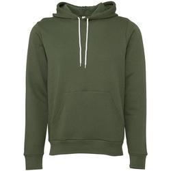 Textiel Sweaters / Sweatshirts Bella + Canvas CV3719 Militair Groen