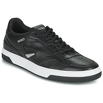 Schoenen Heren Lage sneakers HUGO Switon_Tenn_fl 10232547 01 Zwart