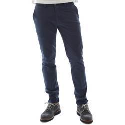 Textiel Heren Chino's Sei3sei 6OYSTER E1669 Blauw