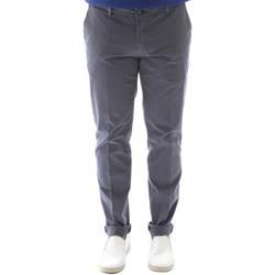 Textiel Heren Chino's Sei3sei 6OYSTER E1648 Zwart