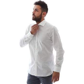 Textiel Heren Overhemden lange mouwen Gmf EQ2 1428 951106/01 Wit