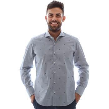 Textiel Heren Overhemden lange mouwen Gmf 961231/4 Blauw