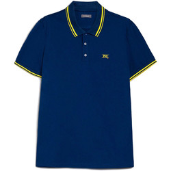 Textiel Heren Polo's korte mouwen Nero Giardini E072370U Bleu