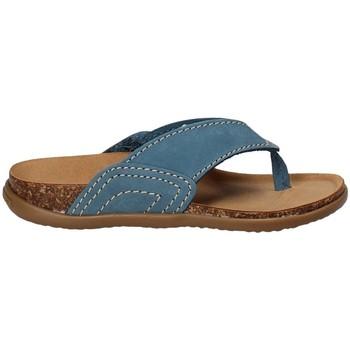 Schoenen Kinderen Slippers Bionatura MICHI Blauw